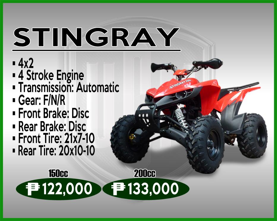 STINGRAY 150cc